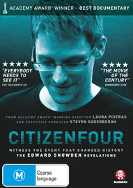 Citizenfour on DVD