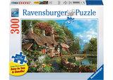 Ravensburger – Cottage On A Lake Lge Form Puz 300pc