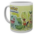 Pokemon: Grass Partners Ceramic Mug (300ml)
