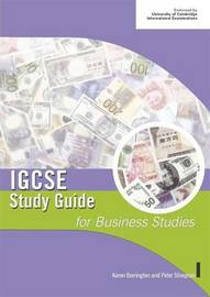 IGCSE Study Guide for Business Studies by Peter Stimpson image
