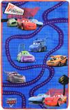 Cars Track Floor Rug