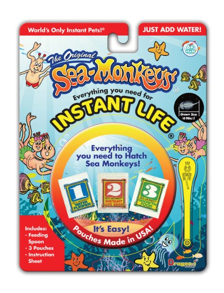 Sea Monkeys: Instant Life - Starter Pack