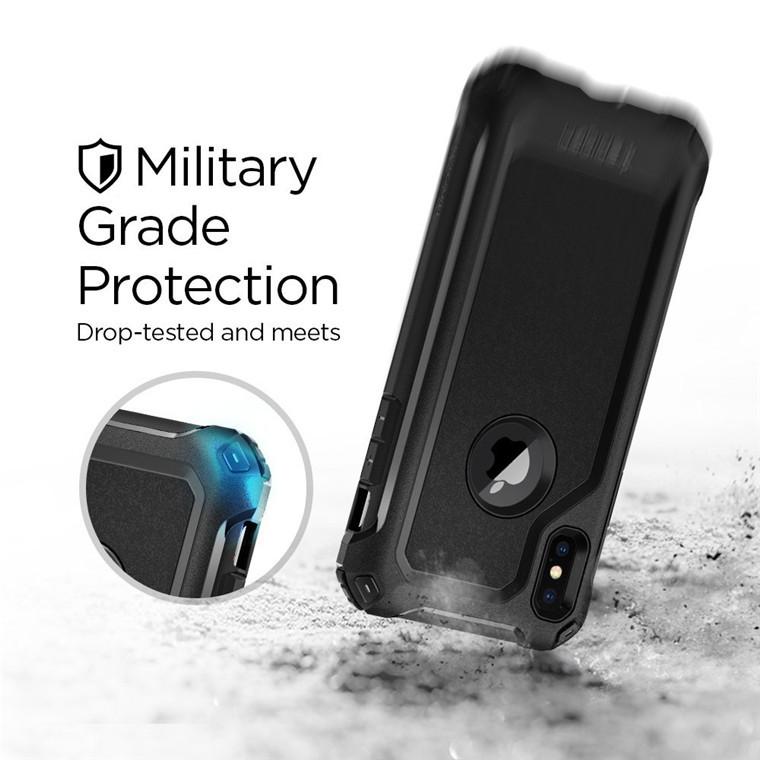 new style 49201 ddadb Spigen iPhone X Pro Guard Case Black | at Mighty Ape NZ