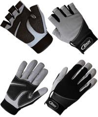 Catch heavy duty kevlar fingerless jigging gloves S/M
