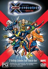 X-Men - Evolution: Xplosive Days on DVD