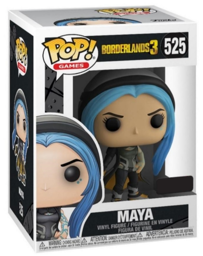 Borderlands 3 - Maya (As Siren) Pop! Vinyl Figure (with a chance for a Chase version!) image