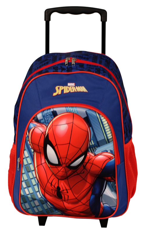 "Spider-Man Trolley Backpack (17"")"