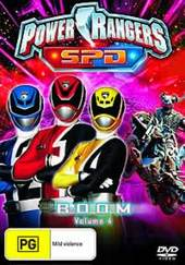 Power Rangers SPD - Vol. 4: Boom on DVD