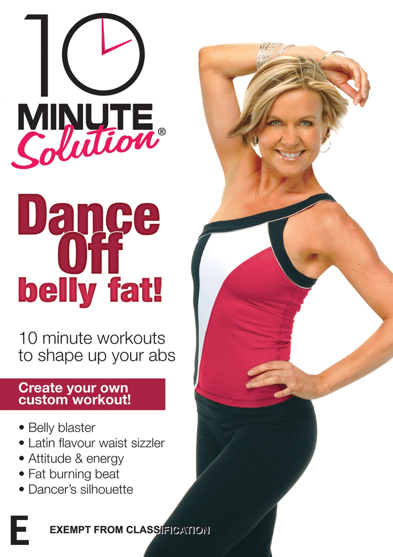 10 Minute Solution: Dance Off Belly Fat on DVD image