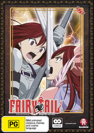 Fairy Tail - Collection 8 on DVD