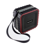 Promate IPX5 Rated Rugged Bluetooth Speaker - Red