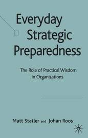 Everyday Strategic Preparedness by Matt Statler image