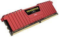 16GB Corsair Vengeance LPX (2x8GB) DDR4 DRAM 2666MHz C16 Memory Kit - Red image