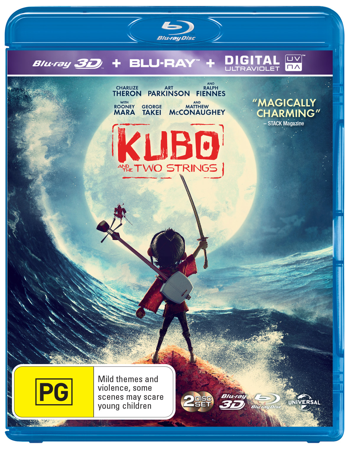 Kubo and The Two Strings on Blu-ray, 3D Blu-ray, UV image