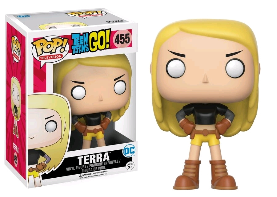 Teen Titans Go - Terra Pop! Vinyl Figure image