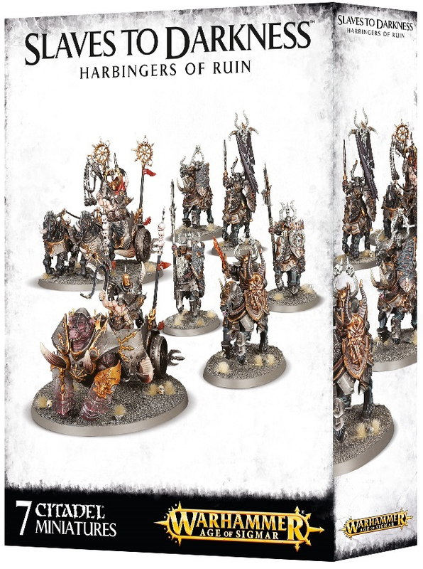 Warhammer Age of Sigmar: Slaves to Darkness Harbingers of Ruin