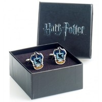 Harry Potter Silver Plated Ravenclaw Crest Cufflinks