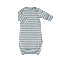 Woolbabe: Merino/Organic Cotton Gown - Tide (0-3 Months)
