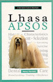 A New Owner's Guide to Lhasa Apsos by Nancy Plunkett image