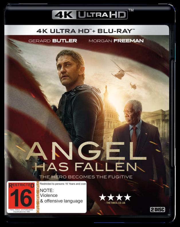 Angel Has Fallen (4K Ultra HD Blu-ray) on UHD Blu-ray