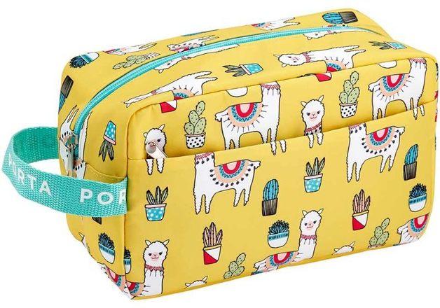 Porta: Pamper - Llama Large Cosmetic Bag