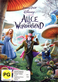 Alice in Wonderland on DVD image
