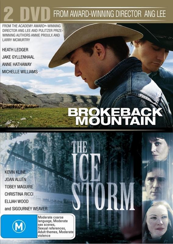 Brokeback Mountain / Ice Storm (2 Disc Set) on DVD