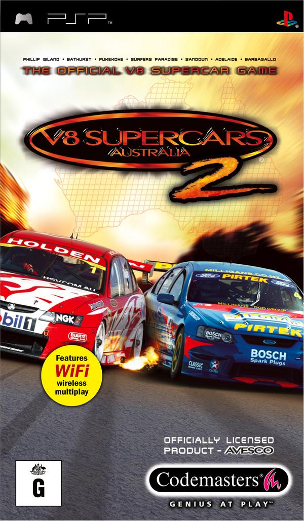 V8 Supercars 2 for PSP image