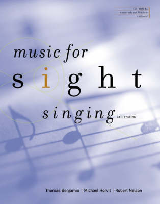 Music for Sight Singing by . Benjamin