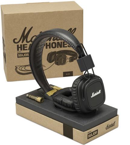 Marshall Major Pro Stereo Headphones (Black)