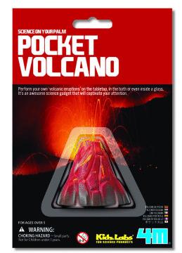 4M: Mini Science Pocket Volcano