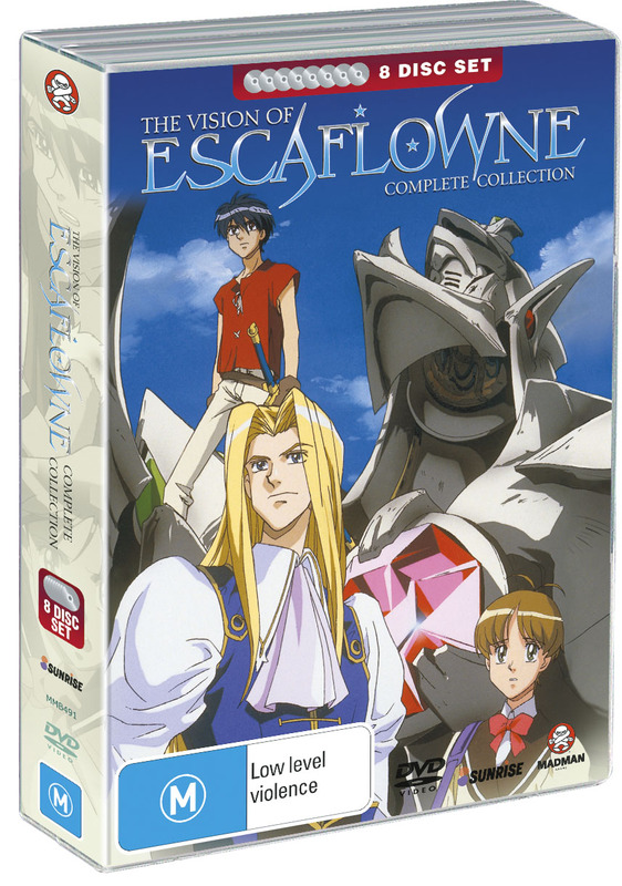 Escaflowne Collection (8 Disc Fatpack) on DVD