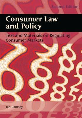 Consumer Law and Policy by Iain Ramsay image