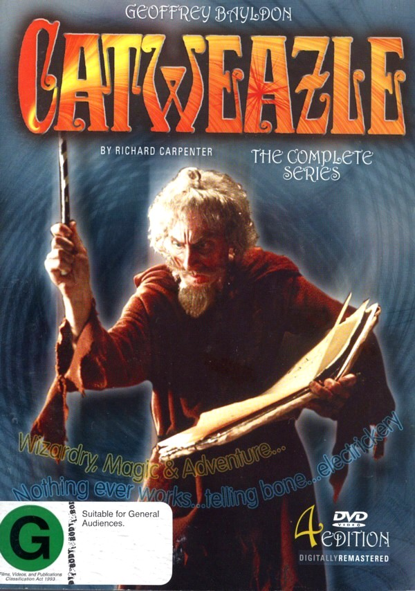 Catweazle - The Complete Series (4 Disc Set) on DVD image