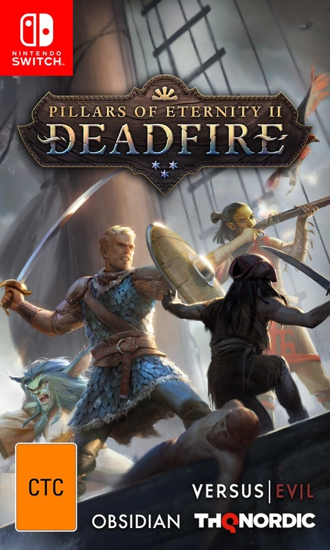 Pillars of Eternity II: Deadfire for Switch