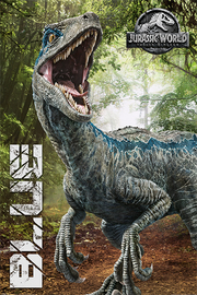 Jurassic World Kingdom Blue Maxi Poster (791)