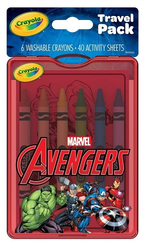Crayola: On The Go Travel Pack - Avengers