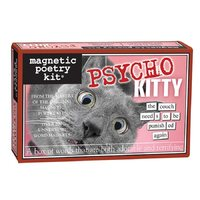 Magnetic Poetry - Psycho Kitty