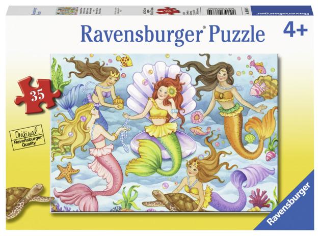 Ravensburger: 35 Piece Puzzle - Queens of the Ocean