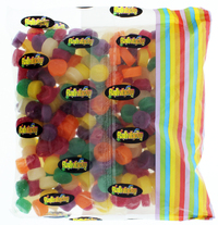 Rainbow Confectionery Wine Gums Bulk Bag 1kg image