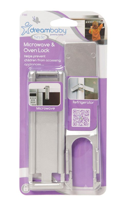 Dreambaby Microwave & Oven Lock (Silver)