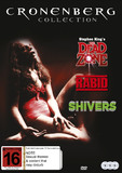 David Cronenberg Collection - Rabid/Shivers/Dead Zone on DVD
