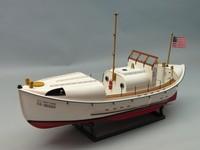 Dumas: USCG 36500 36' Motor Lifeboat - Model Kit