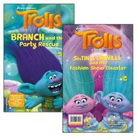 Branch and the Party Rescue and Satin & Chenille and the Fashion Show Disaster (flipbook) by Jaclyn Crupi