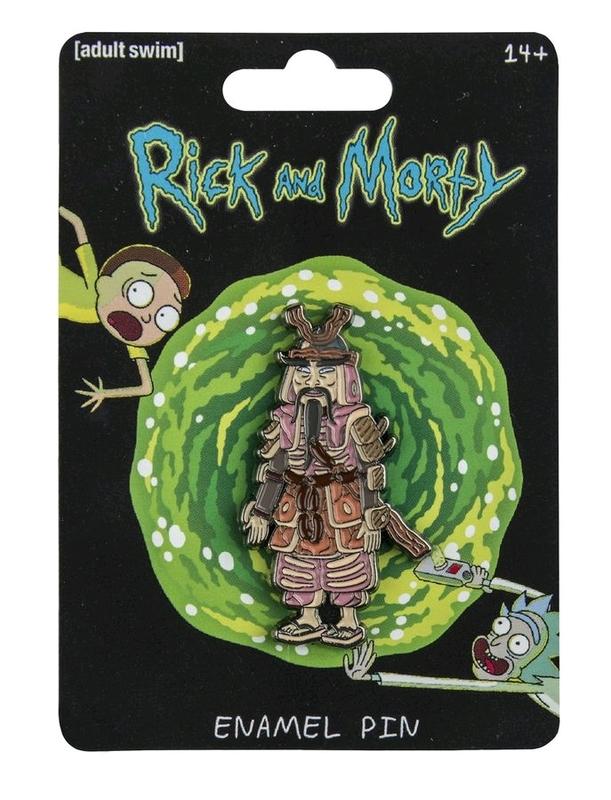Rick and Morty: Enamel Pin - Hamurai