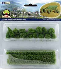 JTT: HO Scale Boxwood Plant (20 Pack)