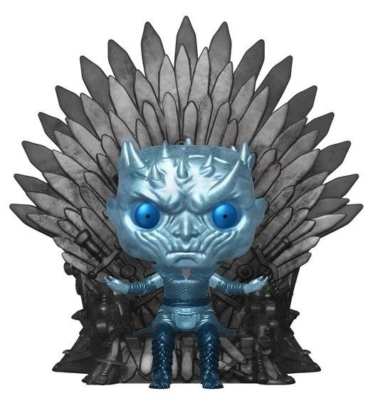 Game of Thrones: The Night King (Iron Throne - Metallic) - Pop! Deluxe Figure