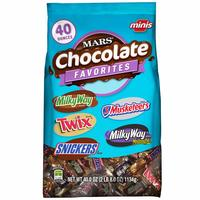 Mars Chocolate Minis Size Candy Variety (1.13kg) image