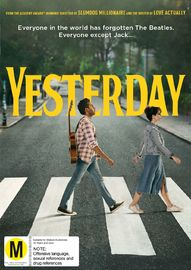 Yesterday on DVD image