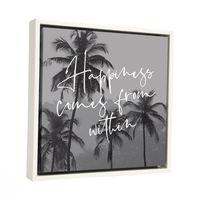 Splosh: Tranquil Happiness Framed Canvas image